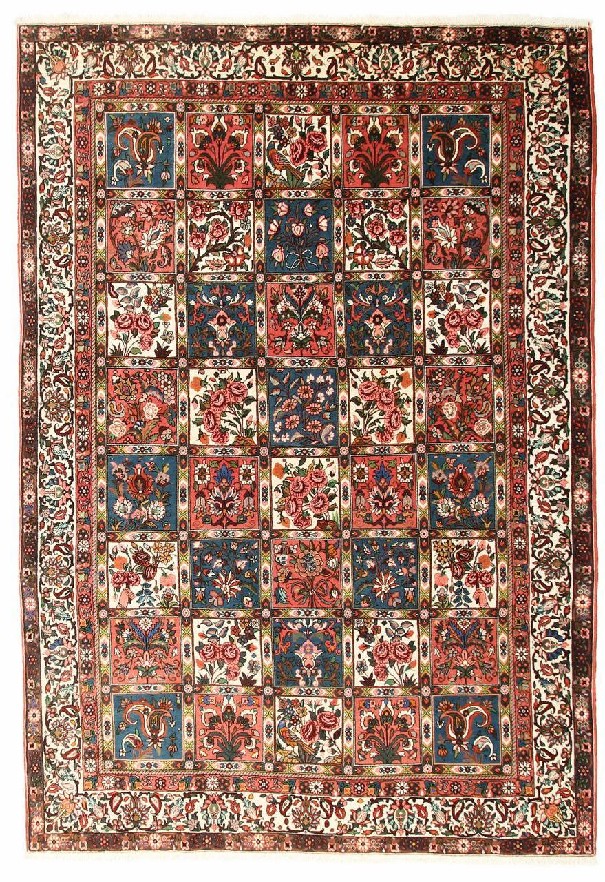 Persian Bakhtiar with Chesti pattern, about
