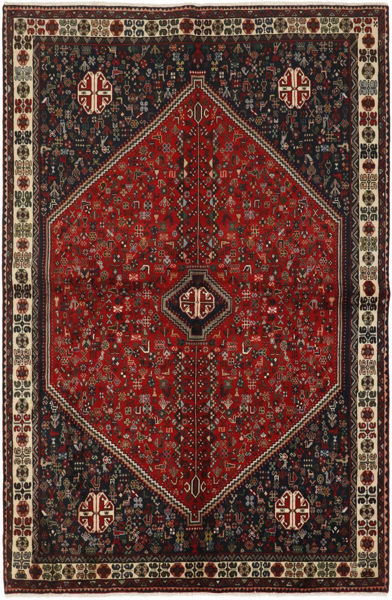 Persischer Adabeh Teppich, ca. 320.000 Knoten/m2
