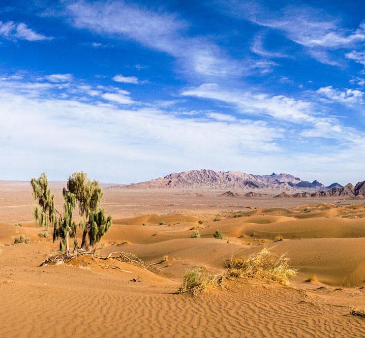 El Dasht-e Kavir Wüste