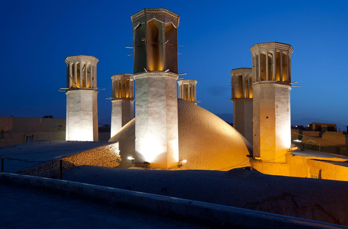 Shesh Badgiri Reservoir von Yazd