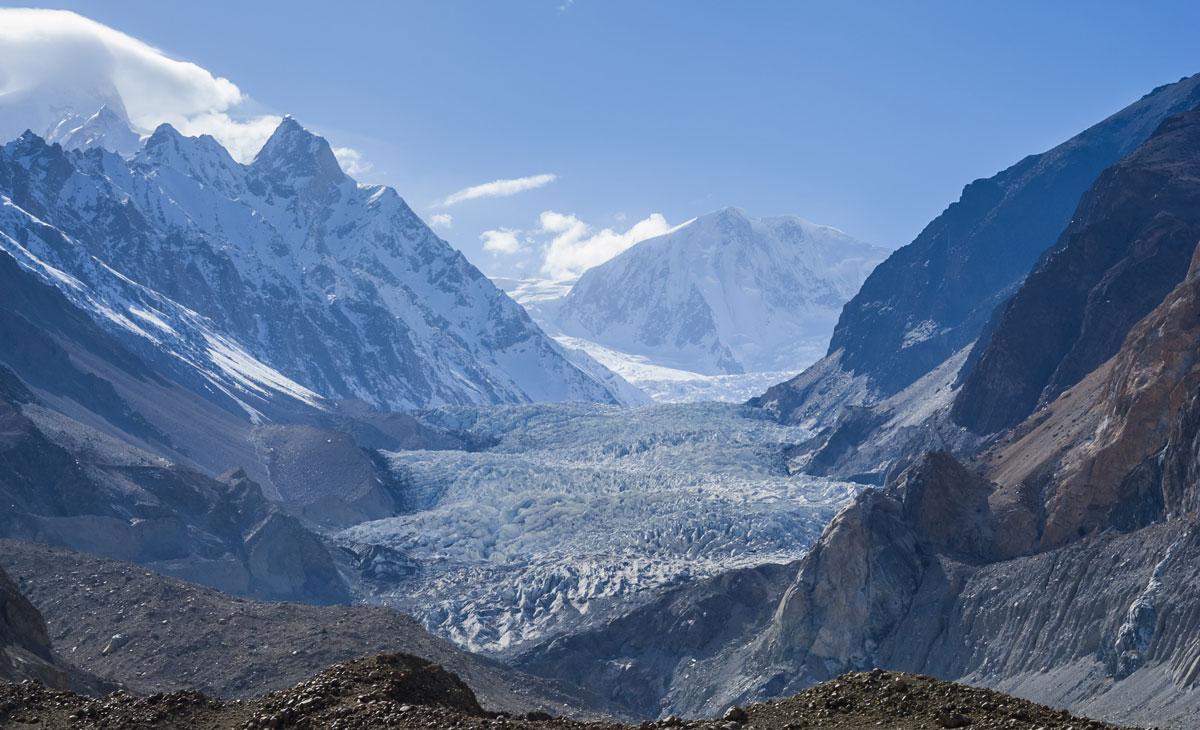 Passu Glacier in the North of Pakistan