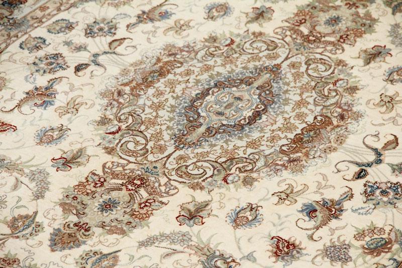 Shirfar Tabriz Seidenteppich