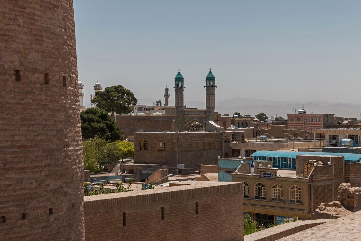 Minaret in Herat, Afghanistan