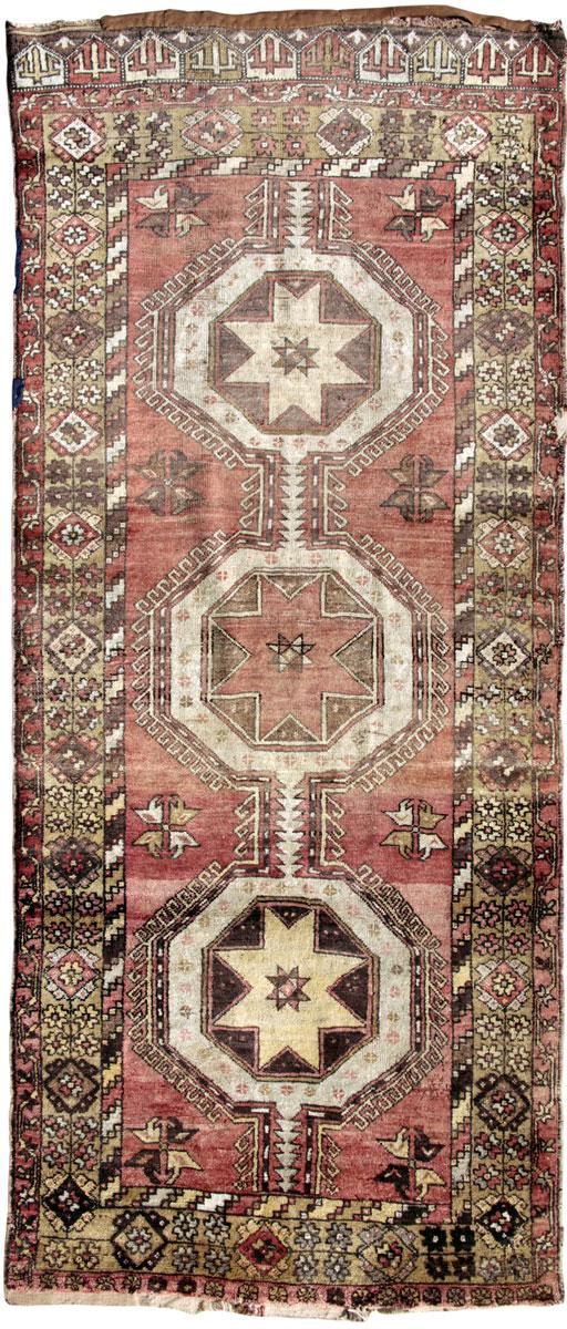 Alter Persischer Teppich von Nomaden geknüpft