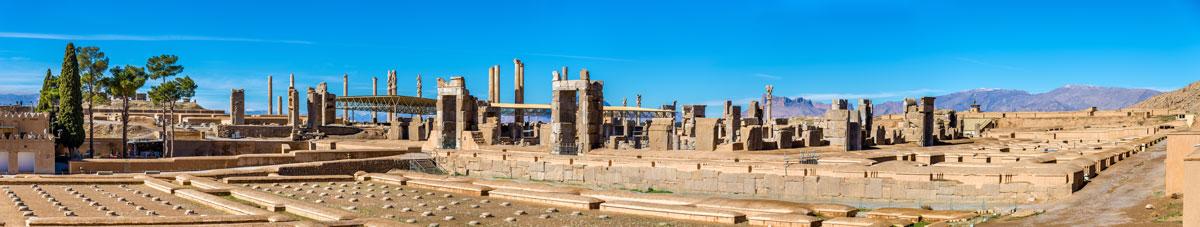 Ausgrabungsstätte des alten Persepolis